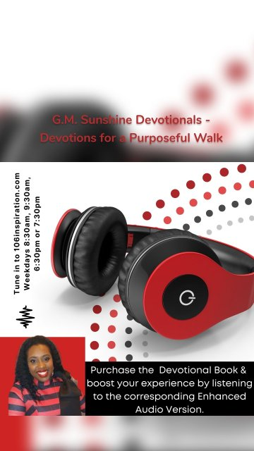 G.M. Sunshine Devotionals - Devotions for a Purposeful Walk